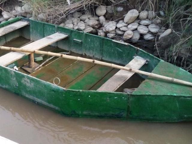 The BSF earlier seized an empty boat belonging to the Pakistan Rangers after it drifted from across the border into the Tota post area in the Amritsar sector.