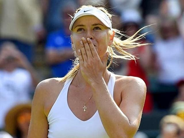 Sharapova shot to international fame as a giggly 17-year-old Wimbledon winner in 2004 -- the third youngest player to conquer the All England Club's famous grass courts.
