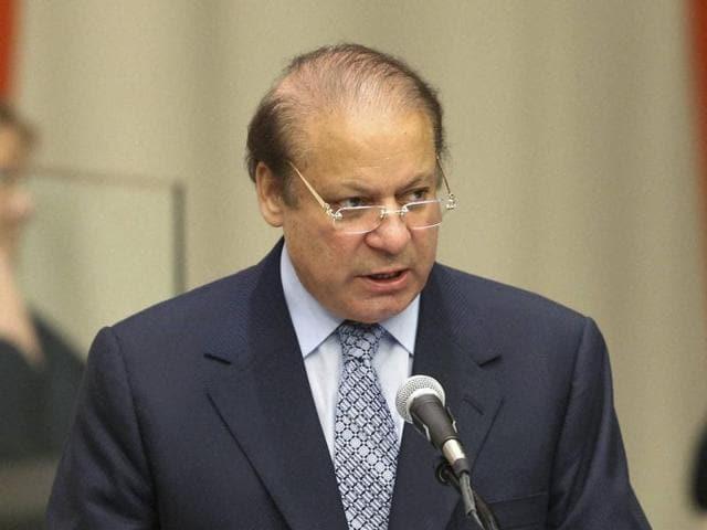 Pakistani prime minister Nawaz