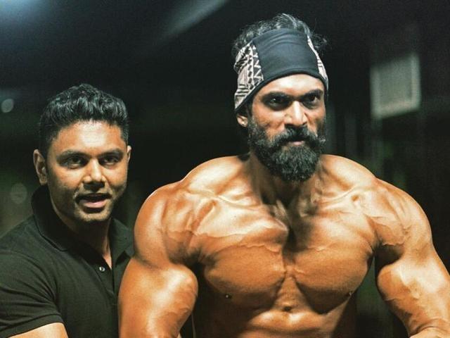 Rana Daggubati's leaner and meaner look from Baahubali 2.