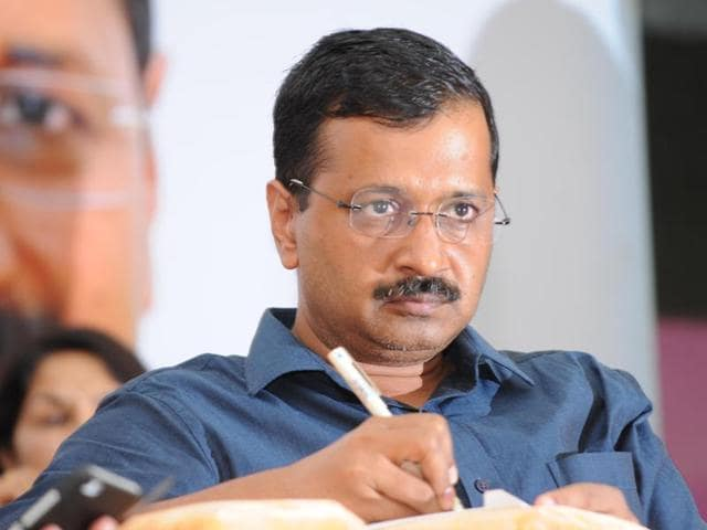 File photo of Delhi CM Arvind kejriwal at an event in Patiala, Punjab.