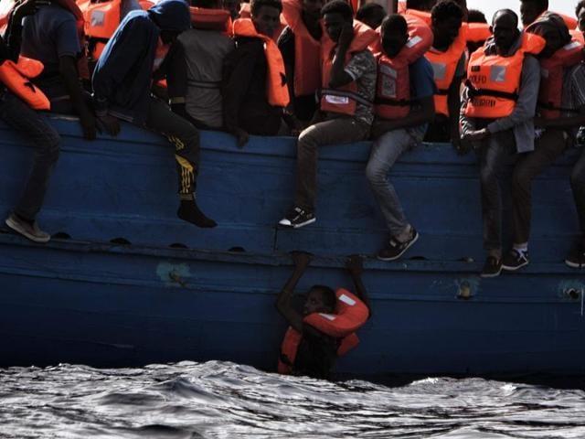 Libya,Migrant boat,Migrant crisis