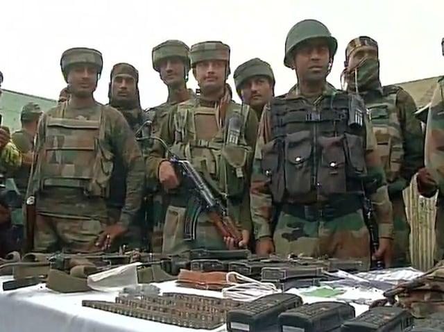 Handwara attack,Rashtriya Rifles,amry camp
