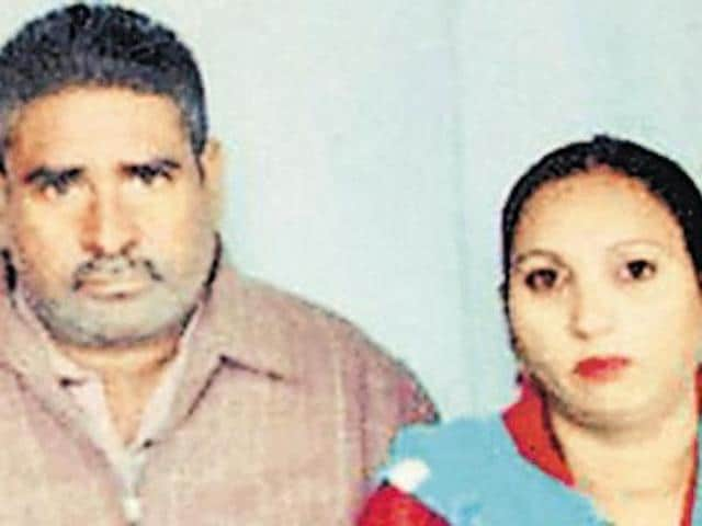 Faridkot couple Jagtar Singh and Salwinder Kaur, who committed suicide