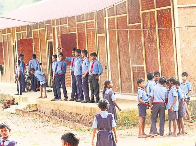Bamboo schools,Chhattisgarh,Maoists