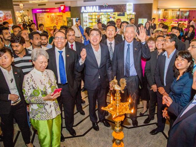 Singapore  prime minister  Lee Hsien Loong visits the  Celebration Mall, Udaipur; CapitaLand announces two malls and three serviced residences projects in India.