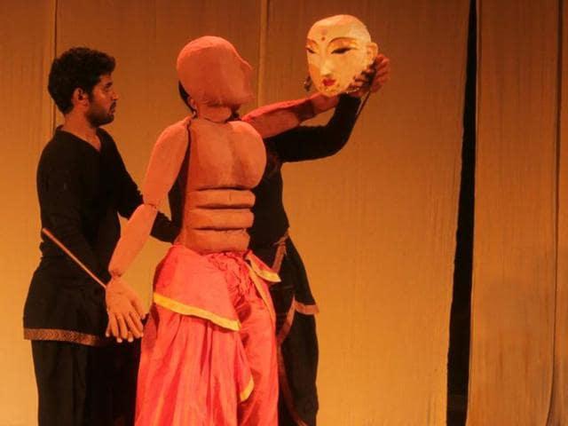 A puppet of Ashwatthama from Mahabharata.(Photo courtesy: Katkatha Puppet Arts Trust)