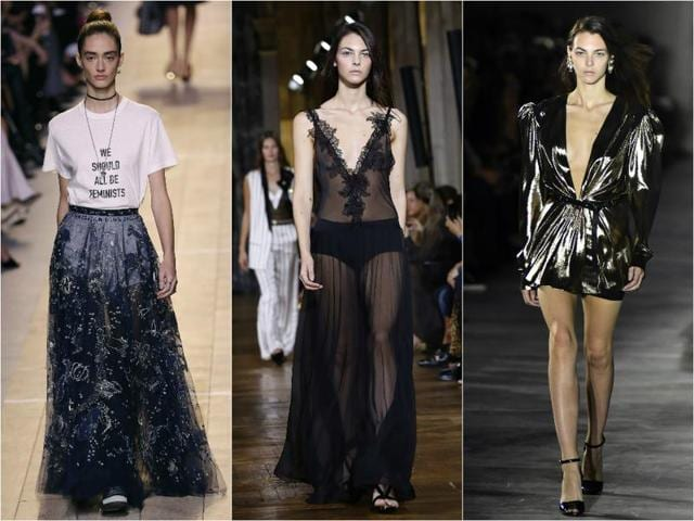 Paris catwalks this year shimmered with all that glitters.