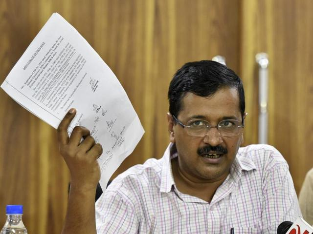 Kejriwal quoted a report of a news channel which claimed that an officer in Pakistan-administered Kashmir had accepted that surgical strikes took place.