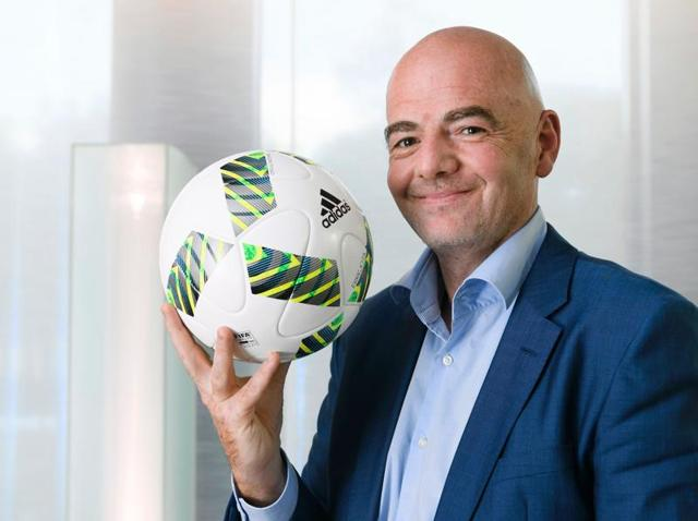 Infantino is determined to stamp his own authority on the job as president and on the sport's future.