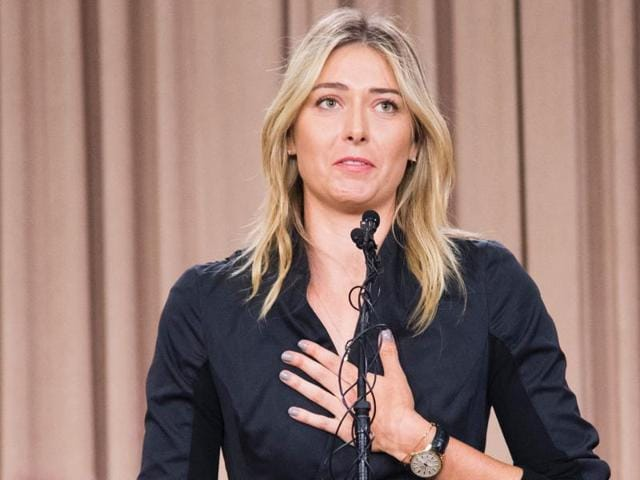 Five-times grand slam winner Sharapova was cleared by the Court of Arbitration for Sport to return to action in April after her two-year suspension was reduced to 15 months.