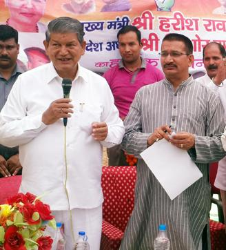 Factions led by state Congress chief Upadhyay (right) and chief minister Rawat have been sparring over the past few weeks.