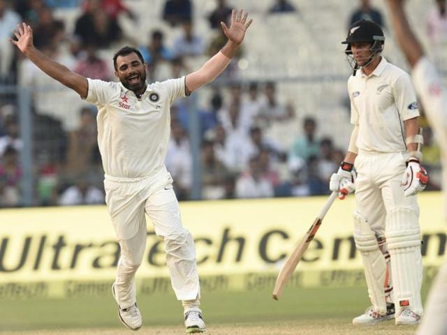 Mohammed Shami took three wickets each in the Kolkata Test even as his daughter was admitted in the hospital.