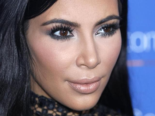 In this June 24, 2015, file photo, Kim Kardashian poses during a photo call at the Cannes Lions 2015.