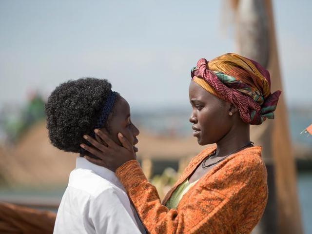 Lupita Nyong'o and Madina Nalwanga star in the triumphant true story Queen of Katwe, directed by Mira Nair.