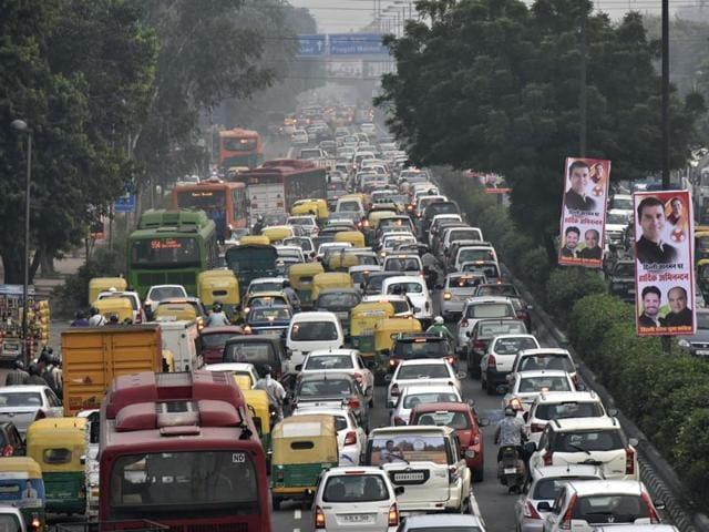 rahul gandhi,kisan yatra,traffic jams