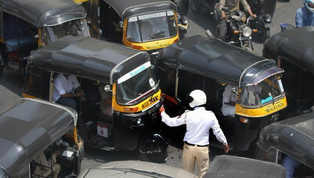 Traffic police attacks
