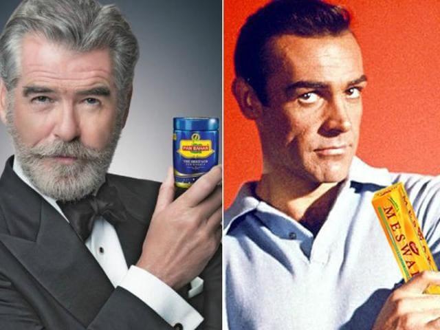 Pierce Brosnan,Sean Connery,Daniel Craig