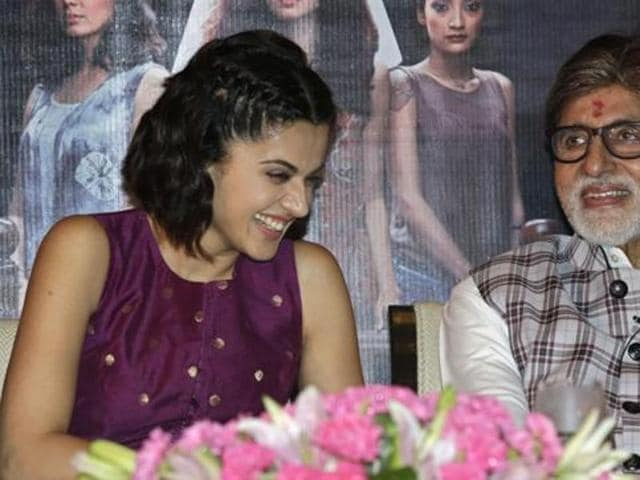 Taapsee Pannu feels she is an outsider as she doesn't have filmy friends or a godfather or multiple film deals with a studio. (AP)