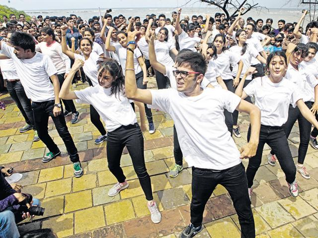 Bonding over flash mobs. Companies focus on your dancing shoes