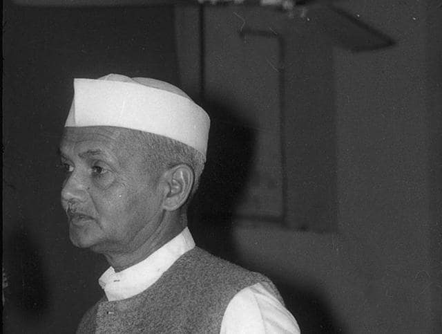 The slogan most associated with Shastri was 'jai jawan, jai kisan'
