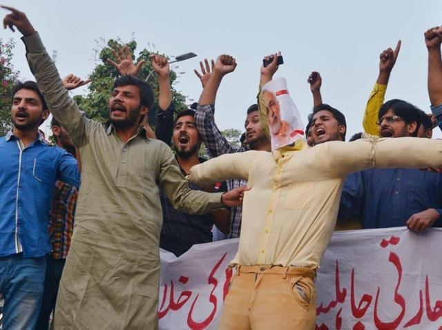 Despite Islamabad's denials that the surgical strikes took place, Pakistani protest against India have continued.
