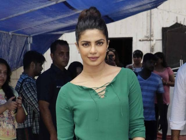 Priyanka Chopra is currently in the US busy with Ameircan TV series, Quantico. Ventilator is her first Marathi production.
