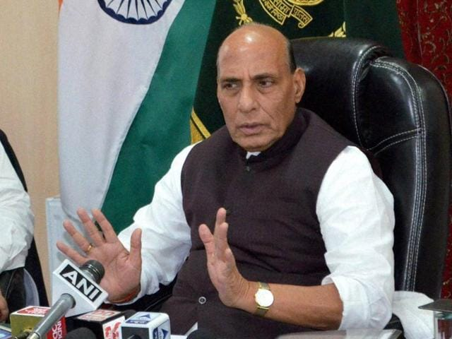 Union home minister Rajnath Singh will visit border districts in Rajasthan during the two-day visit and discuss the security arrangement.