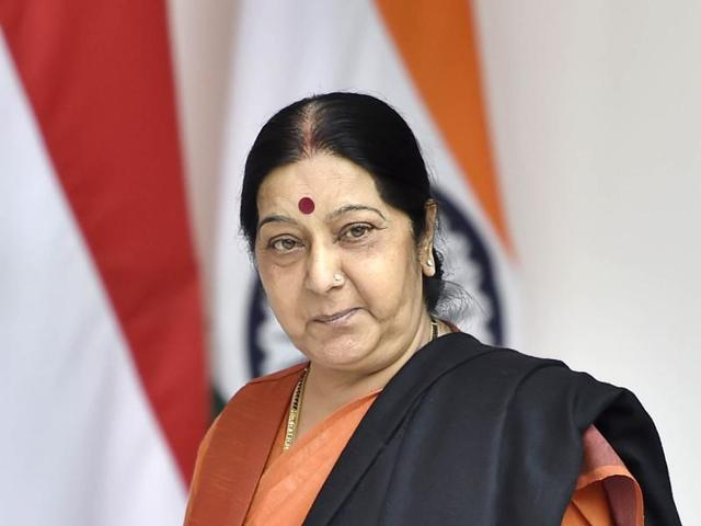Sushma Swaraj has assured the youth, Naresh Tewani, and said that the visas would be issued to the family of his bride.