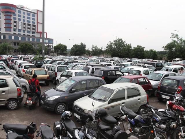 Multi-level Car Parking,Parking at metro stations,Rajouri Garden
