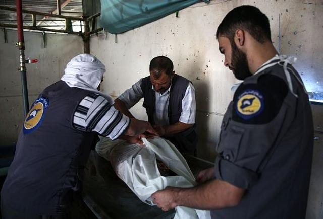 Syrian civil defence volunteers, known as the White Helmets, may have lost out the Nobel Prize for Peace to the Colombian president, yet their work speaks for themselves.