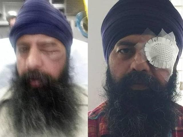 Maan Singh Khalsa was driving home on the night of September 25 when a group of men brutally assaulted him.