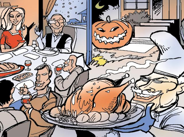 That Thanksgiving celebratory meal has gone on to become a tradition and officially kicks off the holiday season in the United States