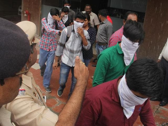 The Thane police raided seven call centres at Delta, arrested 72 people – including eight managing directors – and issued notices to about 700 others.