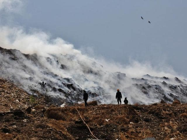 The dumpsite has witnessed several fires