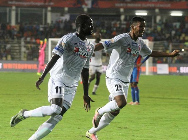 Momar Ndoye of FC Pune City scored the winning goal.