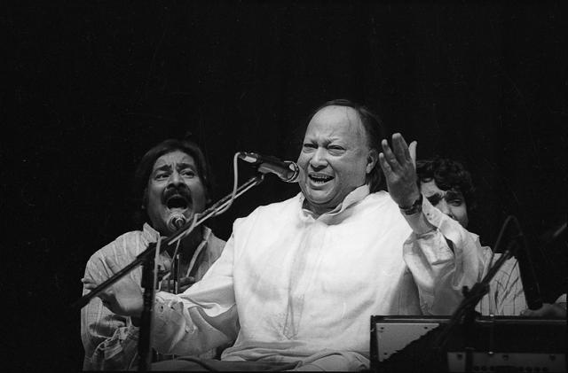 Nusrat Fateh Ali Khan,Mehdi Hassan,Ghulam Ali
