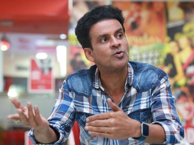 Actor Manoj Bajpayee feels whether to ban Pakistani artists in India or not is a decision that our government should take. (Amal KS /HT Photo)