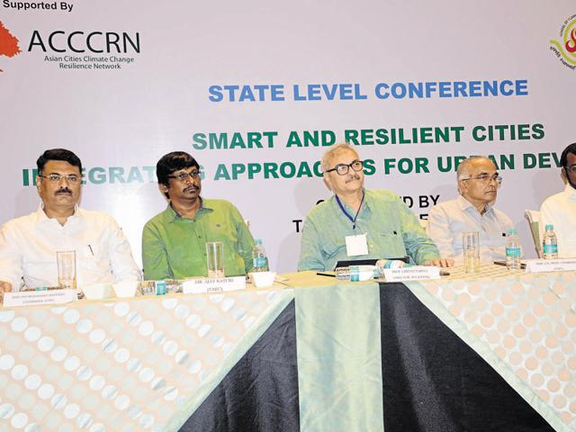 A workshop on smart cities was held in Bhopal on Friday