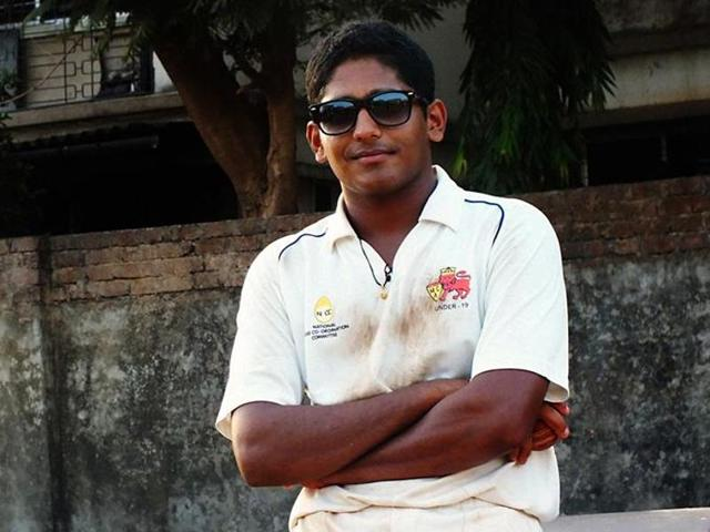 The 21-year-old Tushar Deshpande was included in the Mumbai playing XI after Shardul Thakur was called up for the third Test in Indore.