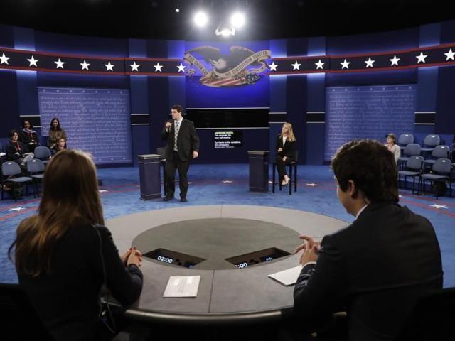 Town hall,US presidential election,Presidential debate