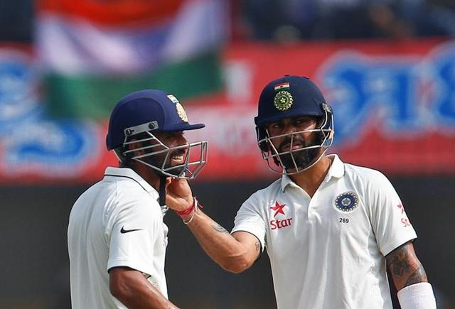 Kohli and Rahane's mammoth 365-run stand is now India's highest for the fourth wicket.