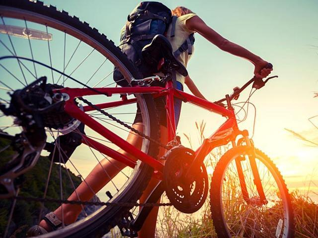 A study done by Purdue University, United States found that regular cycling can cut your risk of heart disease by a 50 percent.