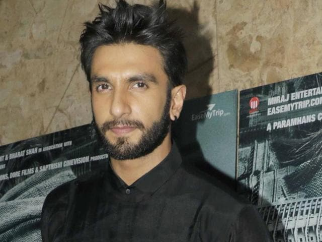 Ranveer Singh developed a strong physique to carry out the striptease sequence stylishly.