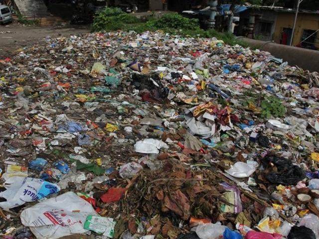 A report by the civic body said 73% of the garbage that makes its way into the city's dumping grounds was food waste(Praful Gangurde/HT photo)