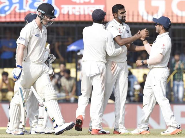 Ravichandran Ashwin,India vs New Zealand,Indore Test