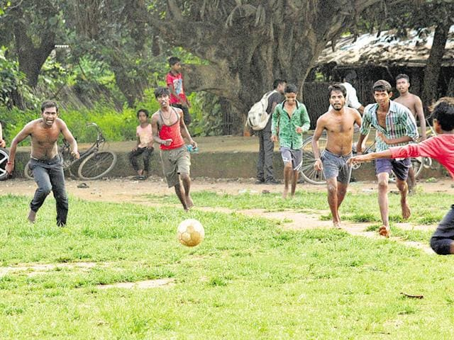 Dilip Basurai, popularly known as 'football vale guruji', has spent his life teaching the game to children.