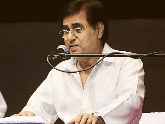 File photo of Jagjit Singh.