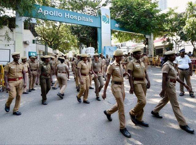 Two arrested,Spreading rumours,Rumours about Jayalalithaa