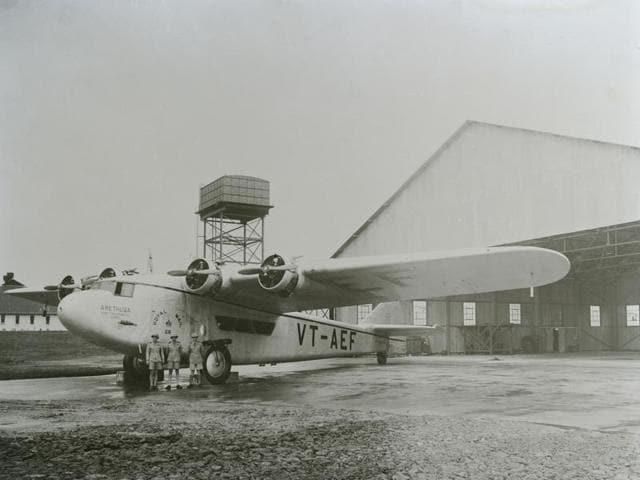 Civilian Aircraft,VT,Viceroy Territory